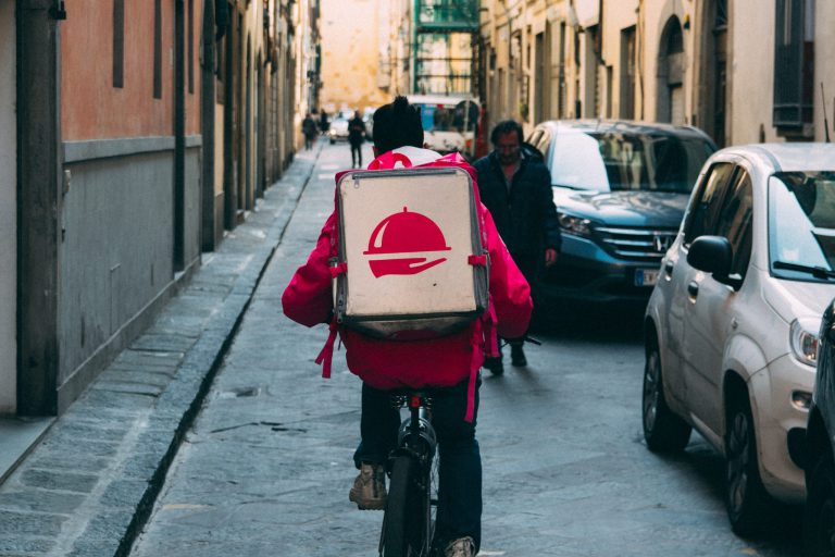 Bezorgers Deliveroo zijn werknemers.